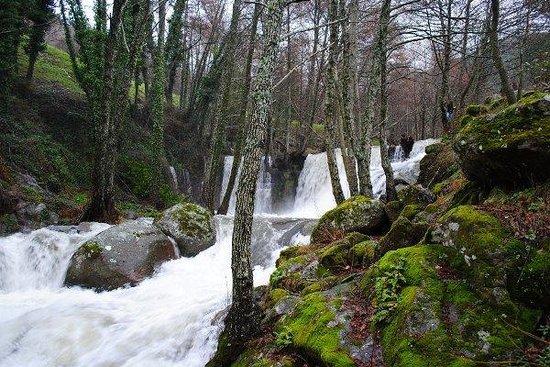 Mijares, España: Salto de agua