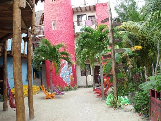 Tribu Hostel: cuartos