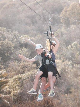 Catalina Zip Line Eco Tour: Zip line Catalina