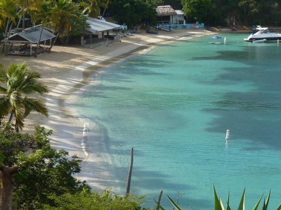 Virgin Islands Campground : Honeymoon Beach