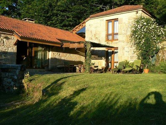 Casa Rural Vilalen: Terraza