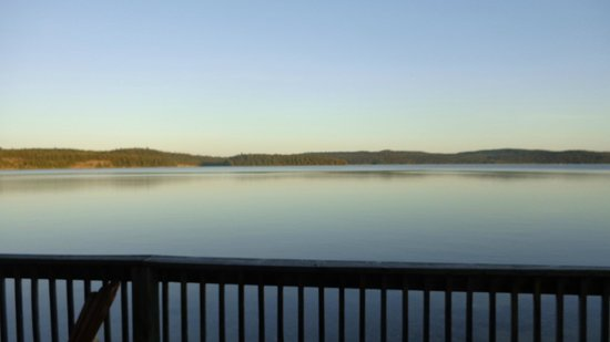 Laurentian Lodge: la vue dehors