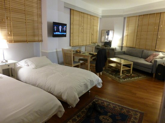 Armada Istanbul Old City Hotel: An apartment with 2 bed as 1 bed doesn't exist in this hotel.