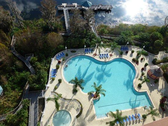 Blue Heron Beach Resort : Nice pool!