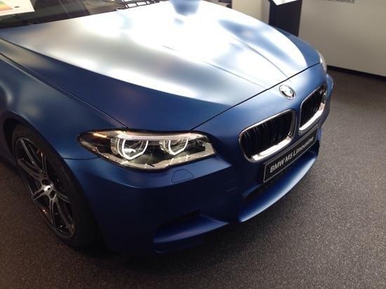 BMW Welt: m5