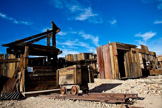 Castle Dome Mines Museum & Ghost Town : Sunset
