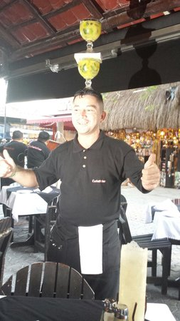 These are your Margarita's! Carboncitos. Playa del Carmen, Mexico