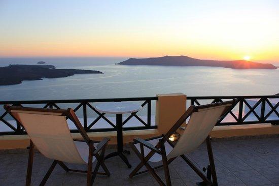 Villa Remvi: La terrasse de la chambre