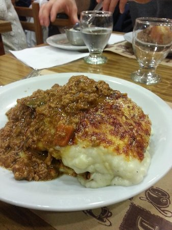 La Fonda Del Tio: The insanely ginormous Lasagna with Jamon Y Queso.  It was enough for two, but we ordered our ow