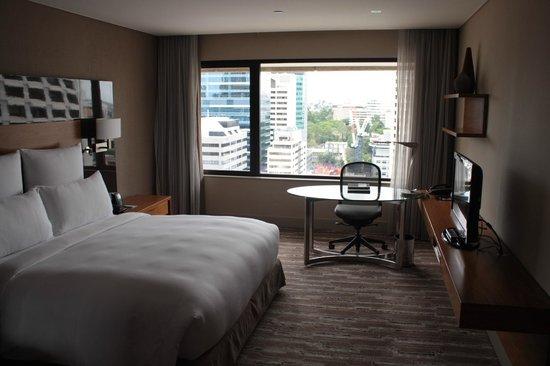 Hilton Brisbane: View from door