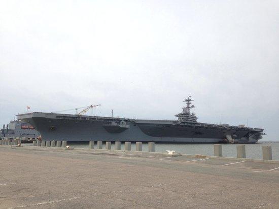 Naval Station Norfolk: USS Theodore Roosevelt (CVN-71)