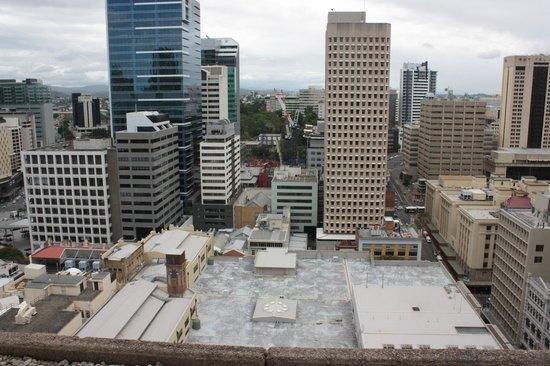 Hilton Brisbane : View from Window