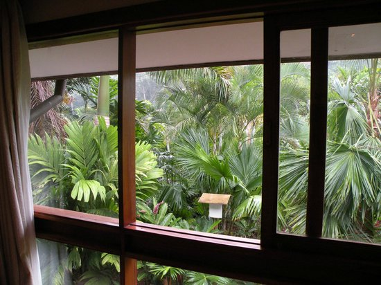 """Tabacon Thermal Resort & Spa: View from """"Garden View"""" room"""