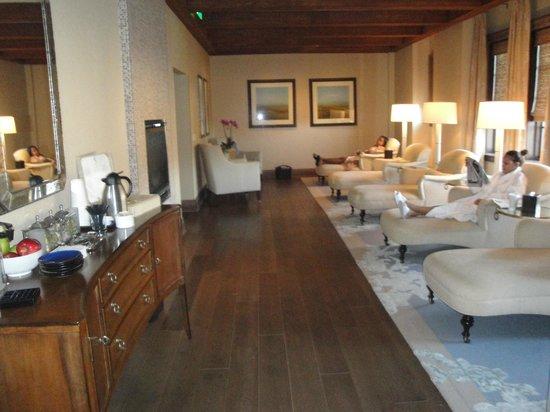 Salamander Resort & Spa: Spa Relaxation Room