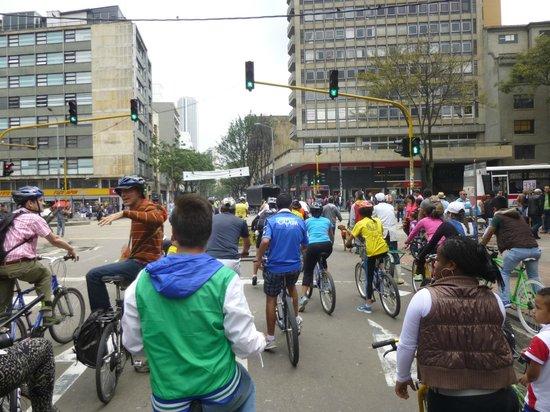 Bogota Bike Tours : Ciclovia