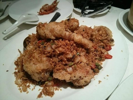 Pacific: typhoon shelter soft shell crab