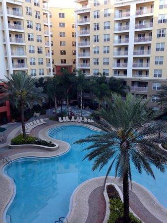Vacation Village at Parkway: building 16, 5th floor balcony.