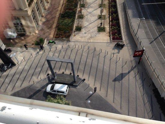 Pullman Montpellier Centre: Vue de la terrasse