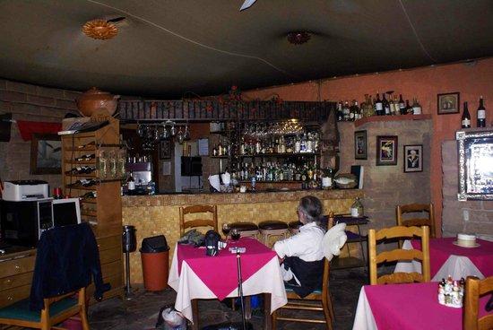 Indoor/bar seating at Mita Gourmet