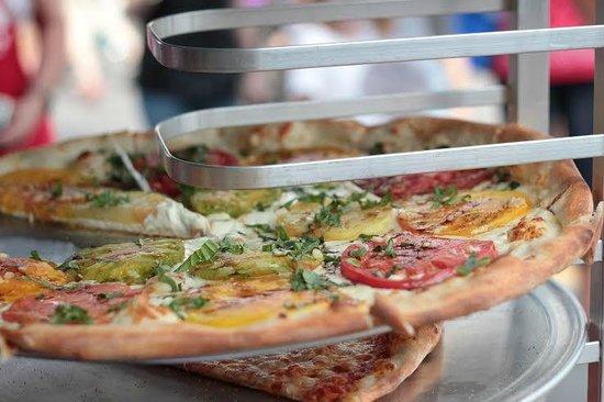 Five Points Pizza: Caprese Pie