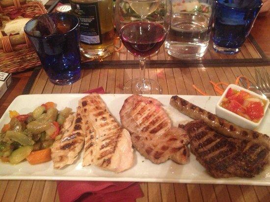 Le mani in pasta : Carne, vino e buona compagnia!