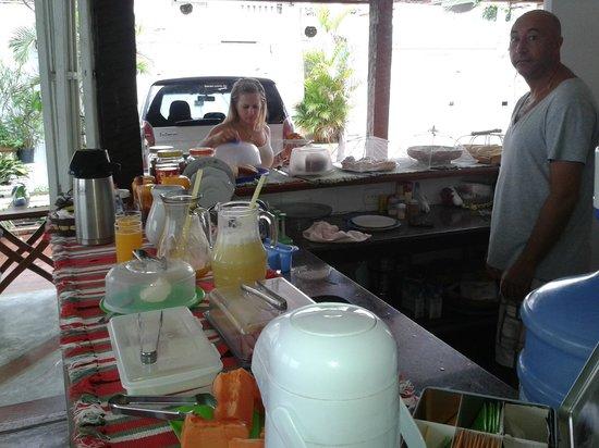 Casa das Rosas: desayuno