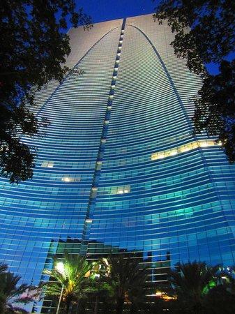 Conrad Miami: Hotel from across the street