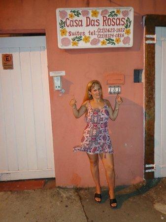 Casa das Rosas: entrada