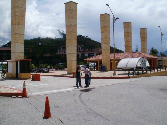 Parque Nacional de Chicamocha: Entrada