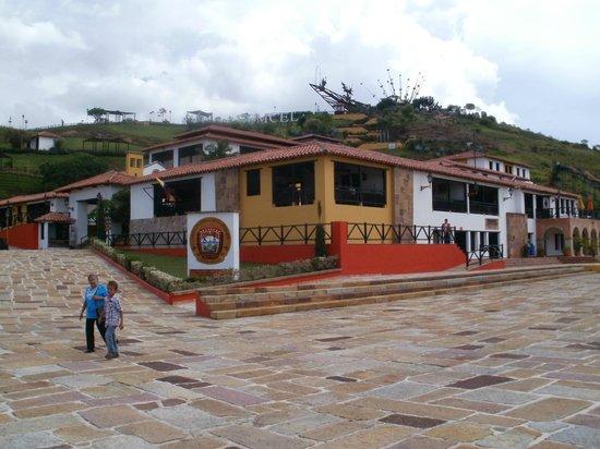 Parque Nacional de Chicamocha: Restaurante