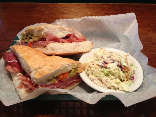 Beachtown Grill: Ck out our Muffeletta sandwich and other yummy stuff.