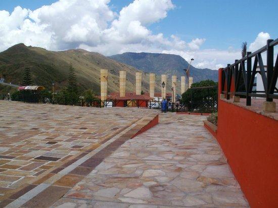 Parque Nacional de Chicamocha: Entrada del parque