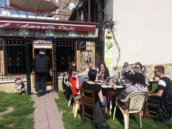 Asmaalti Nargile Cafe: Ayasofya ASMAALTI cafe restaurant