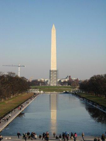 National Mall : Washington memorial