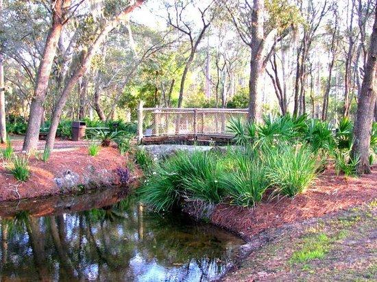 Champions World Resort: Peaceful Gardens.