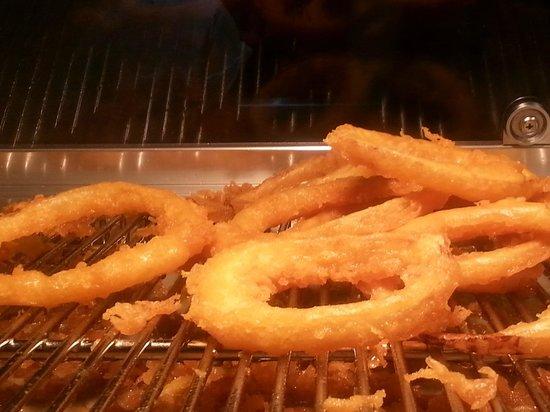Ocean Blue Fish & Chips: Crispy Battered Onion Rings