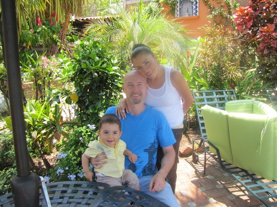 Suites La Hacienda: About to leave after a wonderful holiday
