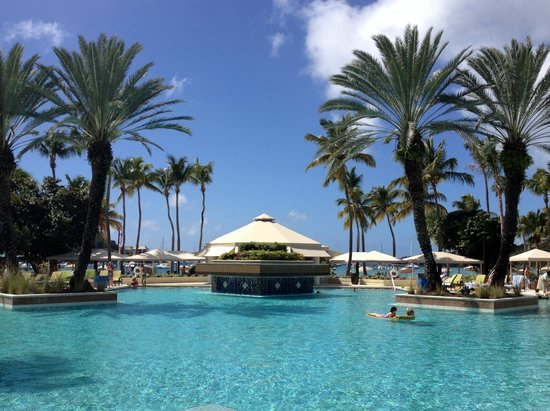 The Westin St. John Resort: The Renovated Pool