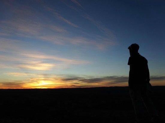 The Broken Hill Sculptures & Living Desert Sanctuary: Sunset at The Living Desert