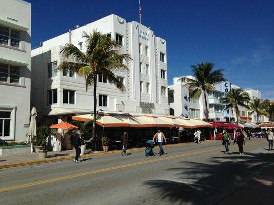 Beacon Hotel : Ocean Drive, South Beach