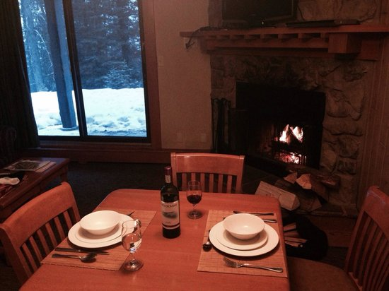 Hidden Ridge Resort: Dinner for two.