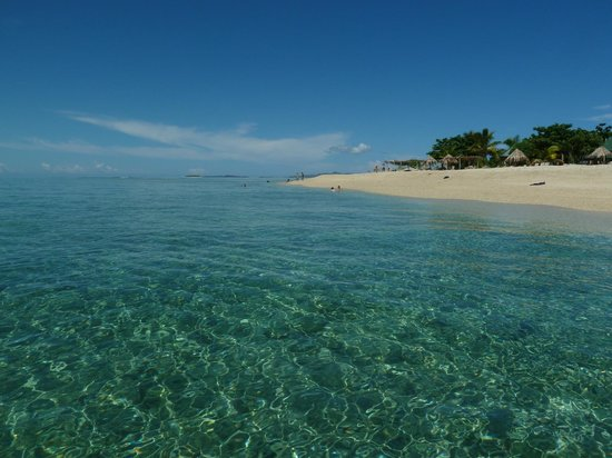South Sea Island Accommodation: the beautiful water