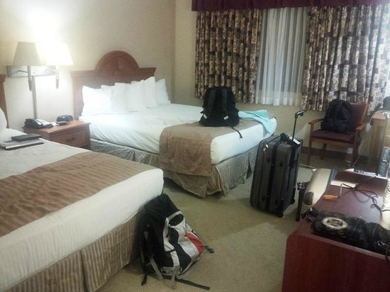 Best Western Westminster Inn: 2 x Queen bed room