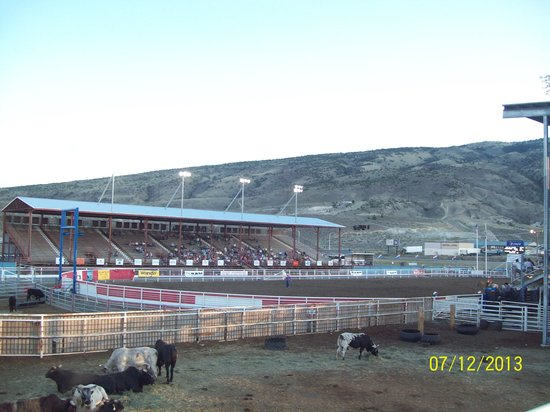 Rodeo In Cody Wyoming Picture Of Buffalo Bill Cody