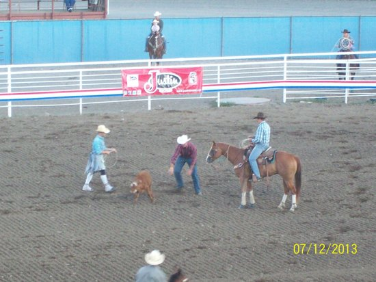 Buffalo Bill Cody Stampede Rodeo: The rodeo