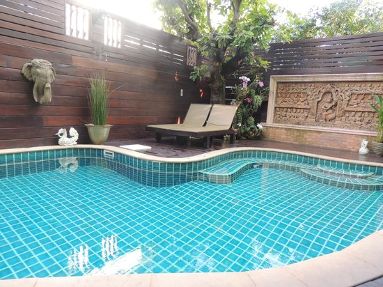 Rich Lanna House: Piscina