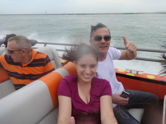 Thriller Miami Speedboat Adventures: Having Fun!