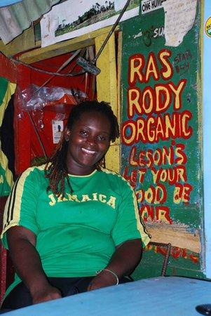 Ras Rody's Roadside Organic: On Jamaica day at Ras Rody's
