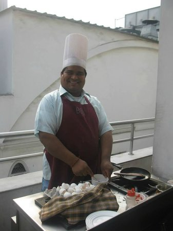 Hotel Godwin Deluxe : Rajuh the chef was brilliant