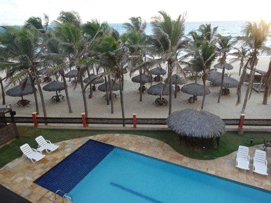 Melina Praia Hotel: Vista do apartamento.